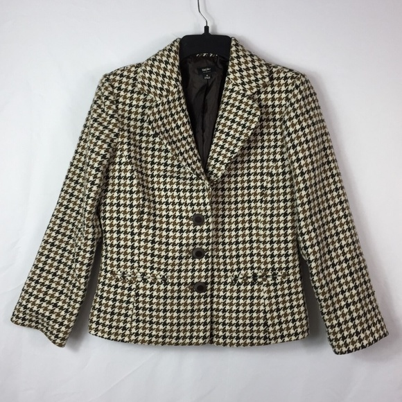 Mossimo Supply Co. Jackets & Blazers - Mossimo Women's Blazer Size Jacket S Houndstooth